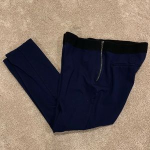 Ankle Crop pants in Navy from WHBM